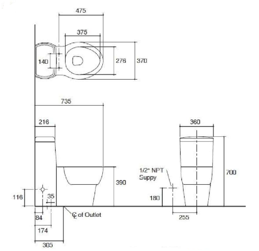K-45382R-NS-0 Specification