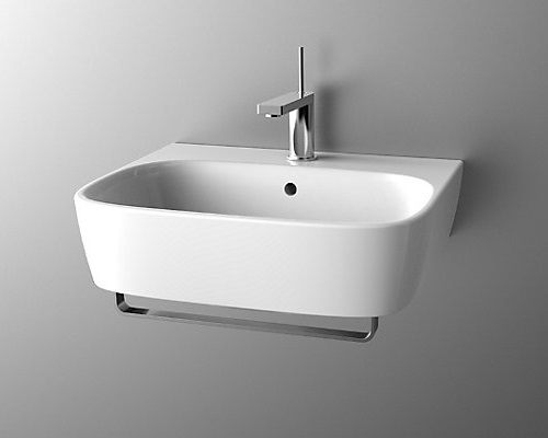 Kohler Modernlife Wall Hung Lavatory with towel Bar K-77769K-1-0