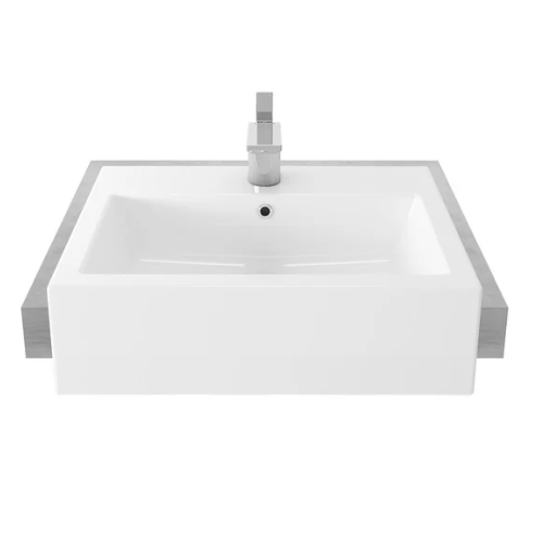 TOTO semi recessed basin LW647CJ