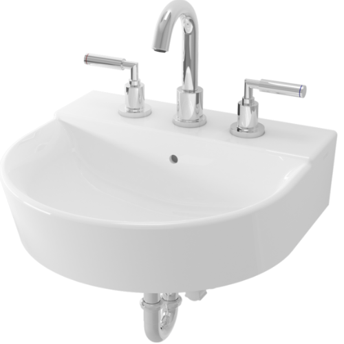 TOTO wall hung basin LW897J