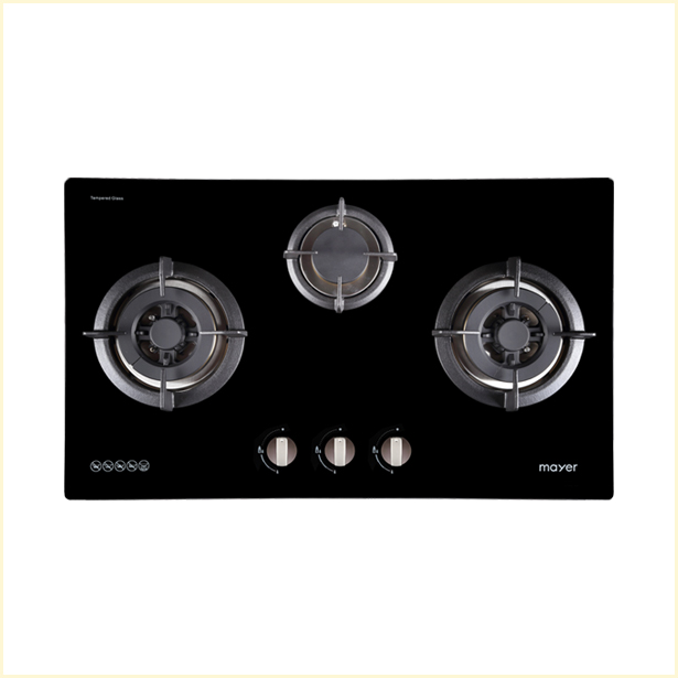 Mayer Glass Gas Hob MMGH773