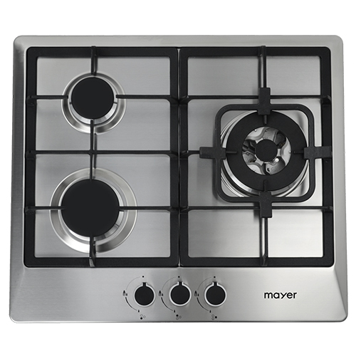 Mayer Stainless Steel Gas Hob MMSS633