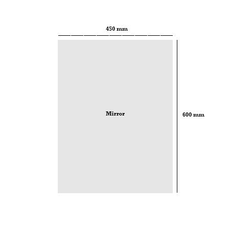W450mm x H600mm