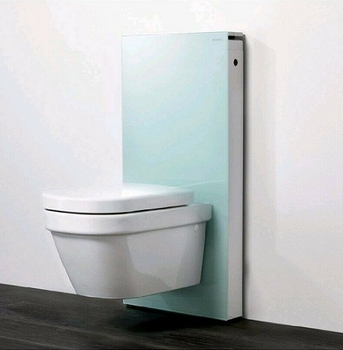Geberit monolith wall hung WC 131.026.SL.5-131.026.SK.1