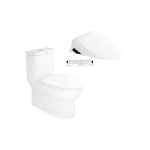 Neo Modern CL25315 One-piece Toilet with Pristine Star E-Bidet