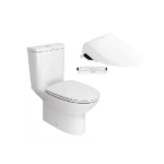 Neo Modern CL26305 Close Coupled Toilet with Pristine Star E-Bidet