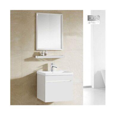 Zaffiro PHT-5040W-50 Basin with Cabinet Gloss White