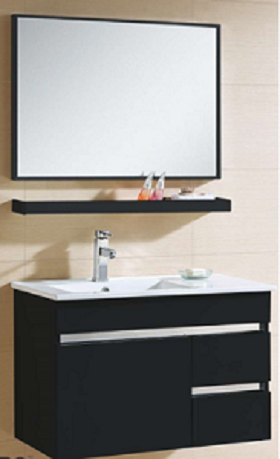 Zaffiro basin with cabinet PHT-8186MB-80