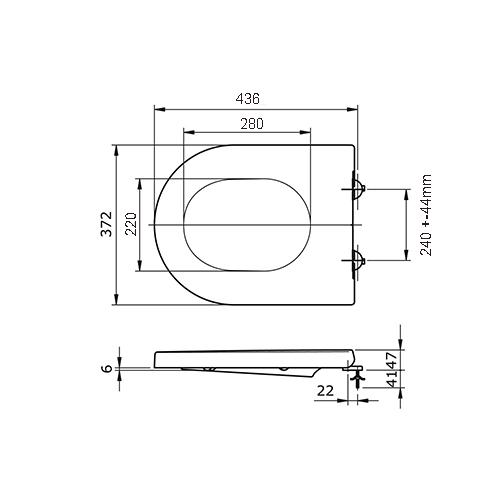SC333HD Dimensions