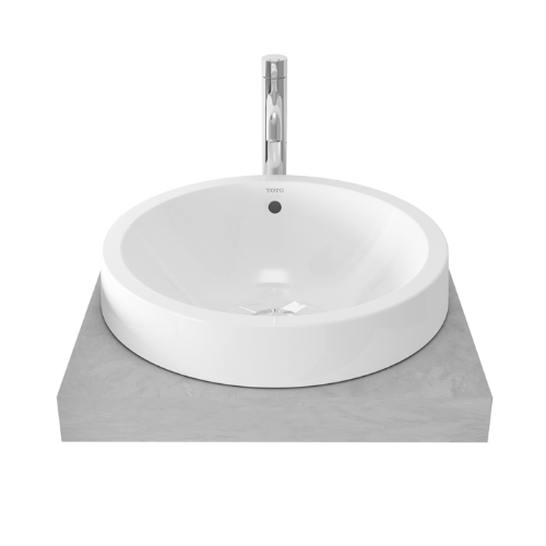 TOTO Semi-Recessed Basin LW528NJ