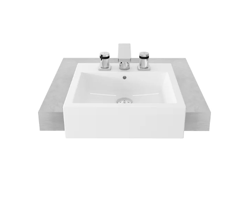 TOTO semi-Recesses Basin LW641NJ
