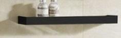 Zaffiro Glass shelf PHT-5040MB-50-S