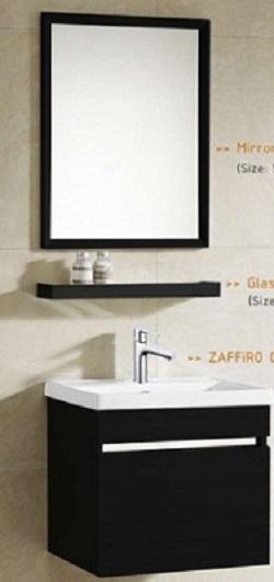 Zaffiro basin with cabinet PHT-5040MB-50