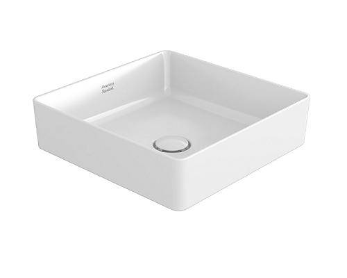 American standard wash basin acacia supasleek square vessel ccasf411-1000410f0