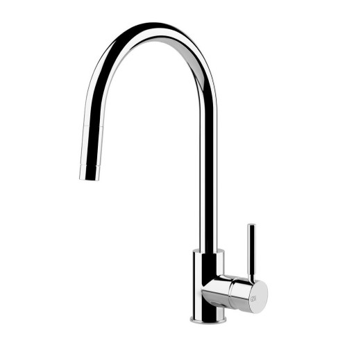 Gessi Cucina GES-17120-CHR Single Lever Kitchen Mixer Cucinai Series