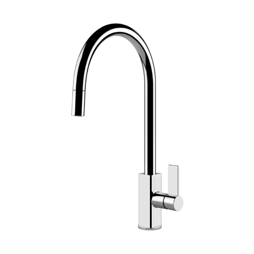 Gessi Cucina GES-17163-CHR Single Lever Kitchen Mixer Cucinai Series