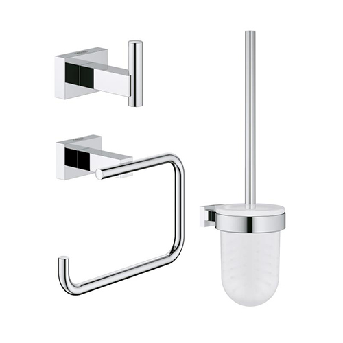 Grohe 40757001 City Restroom Accessories Set 3-in-1