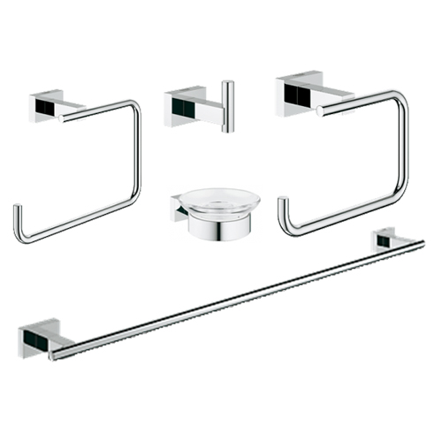 Grohe 40758001 Mater Bathroom Accessories Set 5-in-1