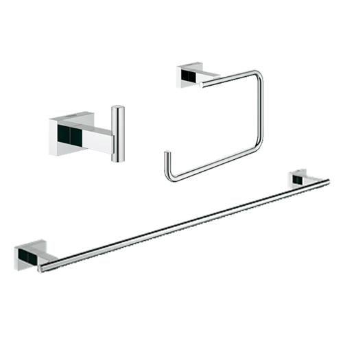 Grohe 40777001 Guest Bathroom Accessories Set 3-in-1