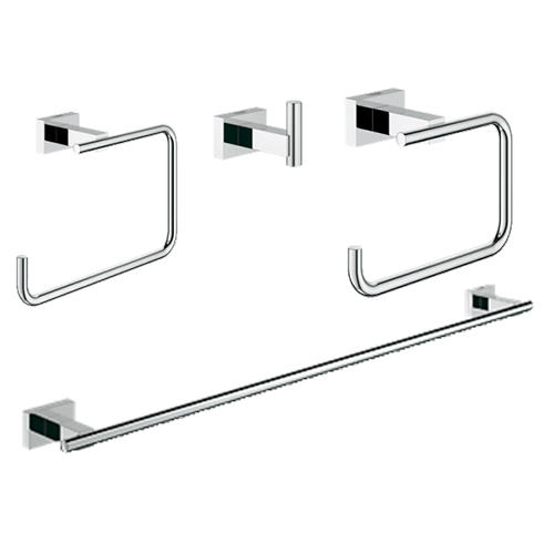 Grohe 40778001 Master Bathroom Accessories Set 4-in-1