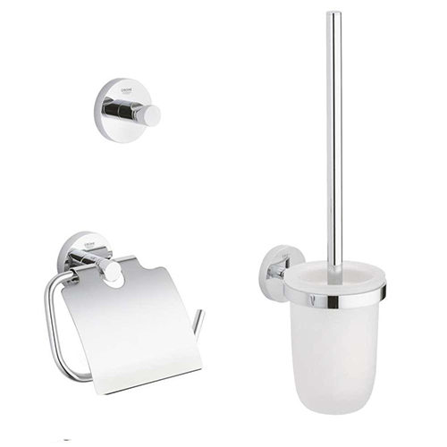 Grohe 40407001 City Restroom Accessories Set 3-in-1